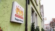 Das Restaurant Toggenburg in Rorschach ist während der Fasnachtszeit ein beliebter Spielort für Guggen aus der Region. (Bilder: Martin Rechsteiner)