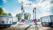 Der Circus Knie ist in Kreuzlingen, dem einzigen Spielort im Kanton Thurgau (Bild: Andrea Stalder)