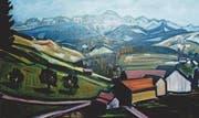 An der AR't sind auch Bilder des 2005 verstorbenen Künstlers Jakob Zuberbühler zu sehen. (Bild: PD)