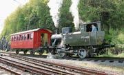 19 Jahre lang schnaufte die Dampflokomotive Eh 2/2 Nr. 3 «Rosa» den Berg hinauf nach Heiden. (Bild: zVg)