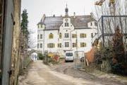 Schloss Sonnenberg oberhalb von Stettfurt wird seit Jahren renoviert. (Bild: Reto Martin (Reto Martin))