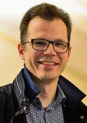 Geht in sich: Der 45-jährige Dominik Diezi wird ins Spiel gebracht für die Nachfolge von Stadtpräsident Andreas Balg. (Bilder: Max Eichenberger)