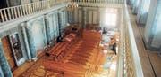 Dem Obergericht gehören 18 Mitglieder an. Sie werden an der Urne von den Stimmberechtigten gewählt. (Bild: APZ)