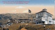 Das Gasthaus Birt um 1900. Im Birt wuchs der Täter auf. (Bild: pd)