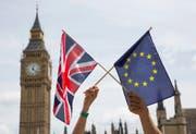 Wie weiter im Verhältnis zwischen Grossbritannien und der EU? (Bild: HAYOUNG JEON (EPA))