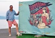 Vom Bauhelfer zum Festivalpräsidenten: Cyrill Stadler hat die Summerdays nach Arbon geholt. Es erlebt seine neunte Auflage. (Bild: Max Eichenberger)