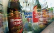 Alkohol ist und bleibt Problemdroge Nummer eins in der Region und schweizweit. (Bild: Ralph Ribi)