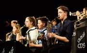 Die Swing Kids präsentierten ihr Können: Sie unterhielten das Publikum mit beschwingten Melodien. (Bild: Donato Caspari)