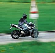 Die Schwägalpstrasse ist bei Motorradfahrern beliebt. (Bild: APZ)
