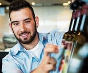 Fabian Huerta träumt vom eigenen Restaurant. (Bild: SRF/Daniel Ammann)