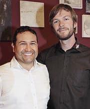 Roberto Hirche und Julian Jauch.