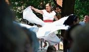 Spanischer Flamenco, Volkstänze aus dem Balkan und ein reichhaltiges kulinarisches Angebot am Arboner Kulturenfest. (Bild: Max Eichenberger)