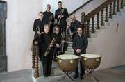Das Barocktrompeten Ensemble Ostschweiz spielt in Urnäsch. (Bild: PD)