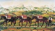 Grempler führen als Zwischenhändler die Alpprodukte ins Tal, um sie auf den Märkten zu verkaufen. (Bild: Stiftung für Appenzellische Volkskunde (1784))