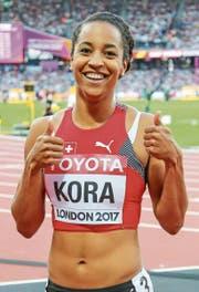 Salomé Kora holt je eine Bronze- und Goldmedaille. (Bild: Freshfocus)