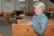 Die 55-jährige Anna Katharina Breuer will in ihren Predigten unter anderem die Verantwortung der einzelnen Kirchgänger in der Gesellschaft unterstreichen. (Bild: Roger Fuchs)