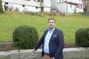 CVP-Politiker Glen Aggeler auf dem Weg in den Herisauer Gemeinderat