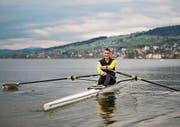 Ueli Bodenmann ist in seinem Element. Der Seeclub Arbon (hier Erich Pfister und Jacqueline Süssli) arbeitet künftig mit ihm zusammen. (Bilder: Benjamin Manser/Ralf Rüthemann)