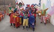 Die Flüchtlingskinder in Mardin freuen sich über die gespendeten Clownkostüme. (Bild: pd)