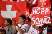 Gelingt es der Schweizer Fussball-Nati, sich für die WM in Russland zu qualifizieren? (KEYSTONE/Jean-Christophe Bott) (Bild: JEAN-CHRISTOPHE BOTT (KEYSTONE))