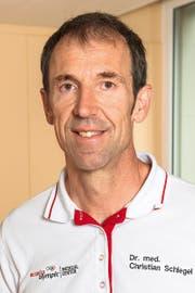 Olympiaarzt Christian Schlegel aus Azmoos. (Bild: PD)