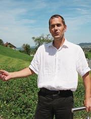 Michael Sutter möchte als Gemeindepräsident dafür sorgen, dass keines der Kirchberger Dörfer bevorzugt behandelt wird. (Bild: Simon Dudle)