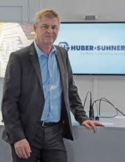 Urs Alder wird neuer Präsident des Industrievereins AR und löst Hans Altherr ab. (Bild: Bruno Eisenhut)