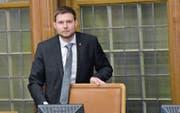Kantonsratspräsident Florian Hunziker redete am Montag Klartext und nahm auch sich nicht aus der Schuld. (Bild: bei)