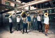 Das siebenköpfige Ensemble Federspiel begibt sich auf neue musikalische Trampelpfade. (Bild: PD)