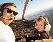 Über 100 Kindern wird am Flugtag ein inniger Wunsch erfüllt. (Bild: PD)