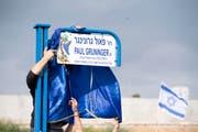 In Rishon Lezion, der viertgrössten Stadt Israels, wurde die Paul-Grüninger-Strasse eingeweiht. (Bild: ANTHONY ANEX (KEYSTONE))