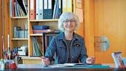 Edith Wyss hat 35 Jahre als Primarlehrerin gearbeitet, davon 26 in der Schwende. (Bild: ROM)