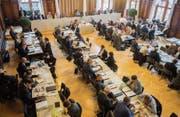 2017 tagte der Grosse Rat zehnmal in Weinfelden (Bild) und siebenmal in Frauenfeld. (Bild: Thi My Lien Nguyen (2. Oktober 2017))