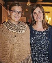 Caroline Schneider und Nadia Stüssi.