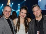 Blues im Blut: Pianist Angelo Signore aus Uster, Sängerin Larissa Baumann aus Hettlingen und Drummer Hannes Würgler aus Pfäffikon ZH.