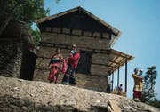 Musterhaus aus dem Wiederaufbauprogramm, an dem auch das SRK beteiligt ist. (Bild: Benjamin Manser (SRK / Benjamin Manser))
