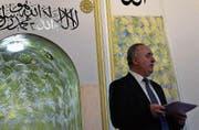 Rehan Neziri referierte in den Räumen des El Nur-Vereins über den Islam und die aktuelle Lage der verschiedenen Religionen. (Bild: Nadine Schwizer)