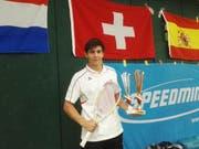 Severin Wirth, Sunspeeder Kreuzlingen, 3. Rang Weltmeisterschaft, Welt-Nr. 8 Speed Badminton (Bild: PD)