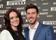 Michael Schmied und Zaklina Djuricic anfang Jahr glücklich vereint an der Pirelli-Night. (Bild: pd)