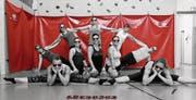 Das Siegerfoto mit den Frauen des STV Sommeri Team Aerobic. (Bild: PD)