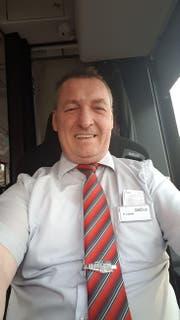 Bus-Chauffeur Rainer Löwen. (Bild: pd)