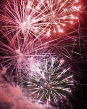 Das 1.-August-Feuerwerk soll weiterbestehen. (Bild: Donato Caspari)