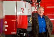 Kreuzlingen TG - David Blatter tritt als Kreuzlinger Stadtrat zurück. Die Feuerwehr war unter anderem Teil seines Ressorts. (Bild: Reto Martin)