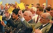 Die Mitglieder von Wirtschaft Buchs nahmen alle Traktanden der Generalversammlung einstimmig an. (Bild: Katharina Rutz)