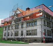 Das ehemalige Waisen- und heutige Schulhaus Wilen. (Bild: Peter Eggenberger)