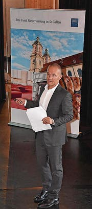 Rolf Th. Jufer von der Firma Funk. (Bilder: Ruben Schönenberger)