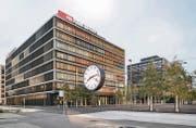 Mehr Mitarbeitende brauchen mehr Arbeitsplätze: 2014 eröffneten die SBB ihren neuen Hauptsitz in Bern Wankdorf. (Bild: ky/Christian Beutler)