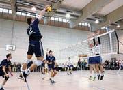Pallavolo erringt Satzerfolg gegen NLA-Mannschaft (Bild: Mario Gaccioli)