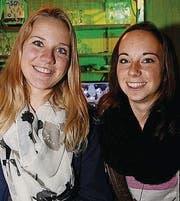 Leila Vogt und Lena Weiss.
