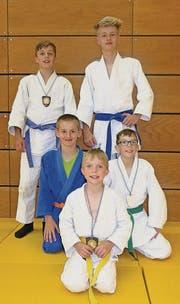 Geglückter Auftritt für die Buchser Judokas am Turnier in Baar. (Bild: pd)